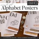 BOHO SUMMER Alphabet Posters
