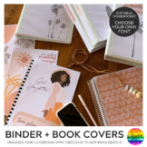 BOHO SUMMER Binder + Book Covers Pack