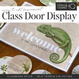 WILD TROPICS Classroom Door + Banner Display