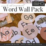 BOHO SUMMER Word Wall Pack