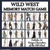 WILD WEST MEMORY MATCHING GAME