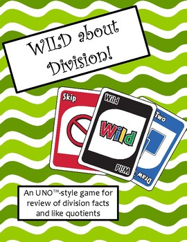 WILD about Division Game