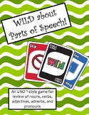 WILD about Parts of Speech Game