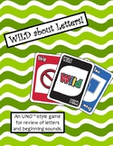WILD about Letters Game