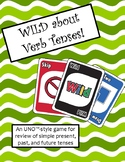 WILD about Verb Tenses Game