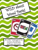 WILD about Word Parts Game