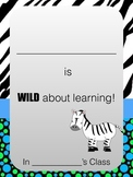 WILD about learning Binder Cover