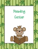 WILD about learning--jungle themed classroom decor