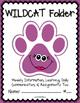 WILDCAT Folder {Student Organization Folder}