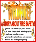 WILDFIRE!  Perfect easy novel for a FIRE SAFETY THEME in GRADES 2-3!