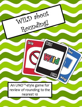 WILD about Rounding (Nearest 10) Game