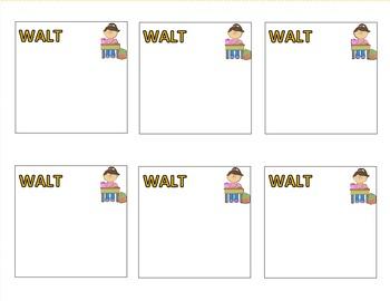 WILF, WALT, TIB Posters and Post-Its