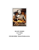 WILLIAM T. SHERMAN & The March to the Sea: Civil War R-A-F-T PAPER ACTIVITY