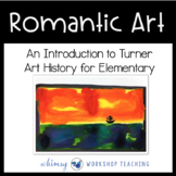 WILLIAM TURNER ART Lesson (from Art History for Elementary Bundle)