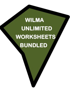 WILMA UNLIMITED by Kathleen Krull- STORY WORKSHEETS AND MORE - BUNDLE