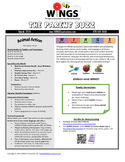 "WINGS Curriculum Parent Newsletter (March  - ""Animal Actio"