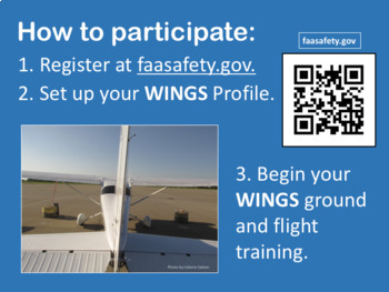 WINGS FAA Pilot-Proficiency Program Brief Overview;  with ACS, QR codes, FAAST