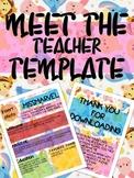 WINNIE THE POOH MEET THE TEACHER NEWSLETTER TEMPLATE EDITA