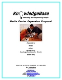 WINNING Grant Proposal Template - Media Center Expansion (with Budget)