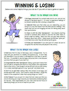 WINNING & LOSING (Sportsmanship)