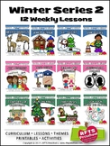 WINTER PRESCHOOL PRE-K KINDERGARTEN LESSONS CURRICULUM S2 BUNDLE