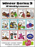 WINTER 12 LESSON PLANS Curriculum Bundle[DECEMBER ~ JANUAR