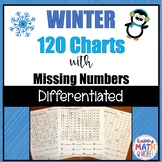 WINTER 120 CHARTS WITH MISSING NUMBERS DIFFERENTIATED