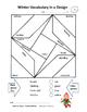 WINTER Vocabulary | RIDDLES | SKILLS | Math | Puzzles | Designs | Gr. 3