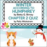 WINTER ACCORDING TO HUMPHREY | CHAPTER 2 | PRINTABLE QUIZ