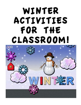 WINTER BULLETIN BOARD AND STUDENT ACTIVITIES