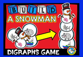 WINTER ACTIVITIES (BUILD A SNOWMAN CENTER) DIGRAPHS GAME
