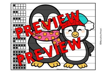 FEBRUARY ACTIVITY KINDERGARTEN (WINTER NUMBER SENSE PUZZLES) PENGUIN MATH CENTER