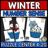 WINTER MATH ACTIVITY (TEEN NUMBER KINDERGARTEN CENTER) FEB
