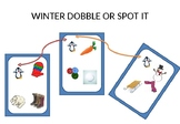WINTER AND CHRISTMAS DOBBLE OR SPOT IT GAME