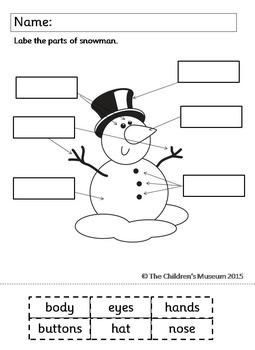 WINTER AND CHRISTMAS LITERACY & MATH