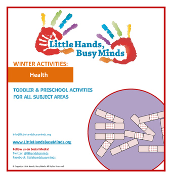 WINTER Activities : Health: Monthly Thematic Unit for Toddlers and Pre-K