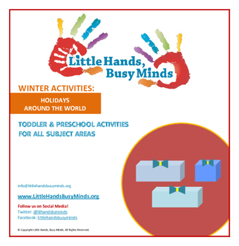 WINTER Activities : Holidays Around The World: Monthly Thematic Unit