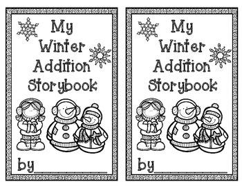 WINTER Addition Storybook Activity
