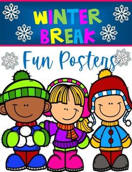 WINTER BREAK ACTIVITIES/ POSTERS