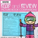 WINTER Book Companions | Speech Therapy | NO PREP Printabl
