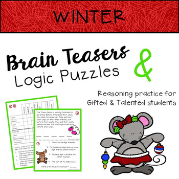 WINTER Brain Teasers & Logic Puzzles
