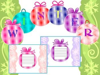 Winter Activity - Bulletin Board Decorations