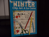 WINTER CLIP ART  A LA CARTE    (SET OF 2)