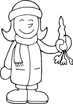 WINTER CLIPART: CLOTHES & ACTIONS - CLIPART INVIERNO ROPAS Y ACCIONES