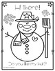 WINTER COLORING BOOK / CHRISTMAS COLORING BOOK