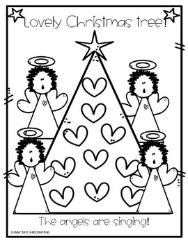 Christmas Coloring Book Christmas Coloring Pages By Sunny Days And Crayons