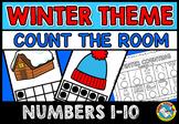 PRESCHOOL WINTER ACTIVITIES KINDERGARTEN (COUNT THE ROOM) NUMBERS 1-10