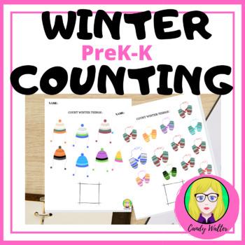 WINTER COUNT WINTER THINGS PREK-K