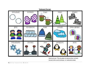 WINTER Cariboo- Pronouns, Plurals, Sentence Building, Prepositions & MORE