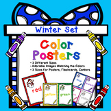 Classroom Decor : Color Names - Christmas Color Posters